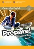 CAMBRIDGE ENGLISH PREPARE! 1 STUDENT S BOOK - 9780521180436 - VV.AA.