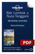 Descarga gratuita de libros electrónicos gratis BALI, LOMBOK Y NUSA TENGGARA 2_6. MONTAÑAS CENTRALES