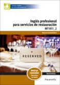 MF1051_2 - INGLÉS PARA SERVICIOS DE RESTAURACIÓN - 9788428396936 - VV.AA.