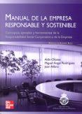 MANUAL DE LA EMPRESA RESPONSABLE Y SOSTENIBLE - 9788448168636 - ALDO OLCESE SANTONJA
