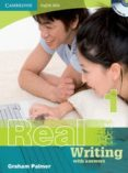REAL WRITING WITH ANSWERS AND AUDIO CD (NIVEL 1) - 9780521701846 - GRAHAM PALMER