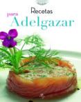 RECETAS PARA ADELGAZAR - 9788466219846 - LUCRECIA PERSICO