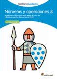 NUMEROS Y OPERACIONES 8 - 9788468012346 - VV.AA.