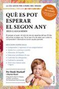 QUÈ ES POT ESPERAR EL SEGON ANY - 9788466418256 - HEIDI EISENBERG MURKOFF