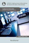 (I.B.D.)APLICACIONES INFORMATICAS DE BASES DE DATOS RELACIONALES. ADGN0108 - FINANCIACION DE EMPRESAS - 9788483648056 - VV.AA.