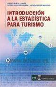 INTRODUCCION A LA ESTADISTICA PARA TURISMO - 9788416140466 - ALFONSO HERRERO DE EGAÑA