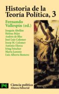 HISTORIA DE LA TEORIA POLITICA (VOL. 3) - 9788420673066 - VV.AA.