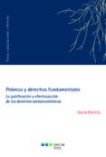 POBREZA Y DERECHOS FUNDAMENTALES: LA JUSTIFICACION Y EFECTIVIZACION DE LOS DERECHOS SOCIECONOMICOS - 9788491230366 - DAVID BILCHITZ