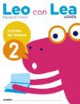 CARTILLA DE LECTURA 2 EDUCACION INFATNTIL 4 AÑOS MEC - 9788469829776 - VV.AA.