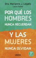 POR QUE LOS HOMBRES NUNCA RECUERDAN Y LAS MUJERES NUNCA OLVIDAN - 9788479536176 - MARIANNE J. LEGATO