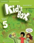 KID S BOX ESS 5 2ED ACT/STICKERS/CD ROM/MY ENG PORTFOLIO - 9788490364376 - VV.AA.