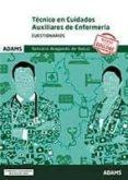TECNICO EN CUIDADOS AUXILIARES DE ENFERMERIA CUESTIONARIOS SERVICIO ARAGONES DE SALUD - 9788491477976 - VV.AA.