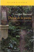 detrás de la puerta (la novela de ferrara iv)-giorgio bassani-9788417346386