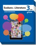 EUSKARA ETA LITERATURA DBH 3 - 9788483782286 - VV.AA.