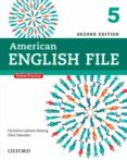 AMERICAN ENGLISH FILE 5 (2ND EDITION) STUDENT BOOK WITH ITUTOR - 9780194776196 - VV.AA.