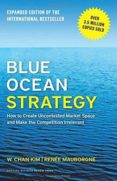 BLUE OCEAN STRATEGY: HOW TO CREATE UNCONTESTED MARKET SPACE AND MAKE THE COMPETITION IRRELEVANT - 9781625274496 - W. CHAN KIM