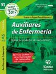 TEMARIO ESPECÍFICO VOL. 1. AUXILIAR DE ENFERMERÍA DEL SAS - 9788416963096 - VV.AA.