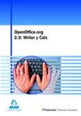 OPENOFFICE.ORG 2.3: WRITER Y CALC - 9788467618396 - VV.AA.