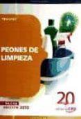 PEONES DE LIMPIEZA. TEMARIO - 9788468105796 - VV.AA.