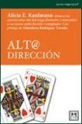 ALTA DIRECCION - 9788483561096 - ALICIA E. KAUFMANN