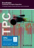 (I.B.D.)TPC - ENCOFRADOS. CONTENIDO FORMATIVO ESPECIFICO - 9788483642696 - VV.AA.
