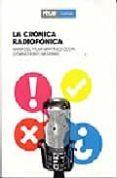 LA CRONICA RADIOFONICA - 9788488788696 - MARIA DEL PILAR MARTINEZ COSTA