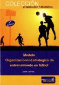 MODELO ORGANIZACIONAL ESTRATEGICO DE ENTRENAMIENTO EN FUTBOL - 9788493724696 - ADRIAN CERVERA GARCIA