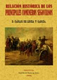 PRINCIPALES COMUNEROS DE SEGOVIA: RELACION HISTORICA (ED FACSIMIL ) - 9788497611596 - CARLOS DE LECEA Y GARCIA