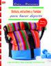 bolsos, estuches y fundas para hacer deporte con patrones para realizar 15 proyectos-9788498744286