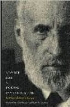 advice for a young investigator-santiago ramon y cajal-9780262681506