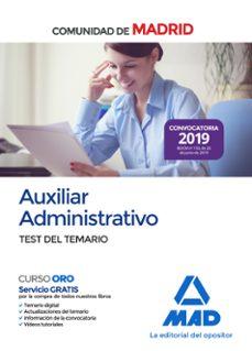 Inmaswan.es Auxiliar Administrativo De La Comunidad De Madrid. Test Del Temario Image