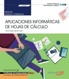 Viamistica.es Manual. Aplicaciones Informáticas De Hojas De Cálculo (Transversa L: Uf0321). Financiación De Empresas (Adgn0108). Certificados De Profesionalidad Image
