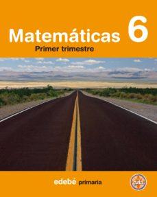 Cronouno.es Matematicas 6º Primaria (Encuadernacion Por Trimestres) (En Ruta) Image