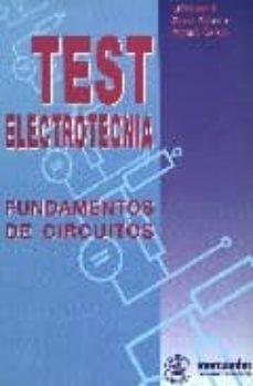 Encuentroelemadrid.es Test Electrotecnia: Fundamentos De Circuitos Image