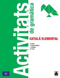 activitats de gramatica. catala elemental-9788430734306
