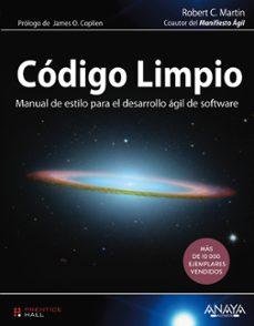 Descargar CODIGO LIMPIO gratis pdf - leer online