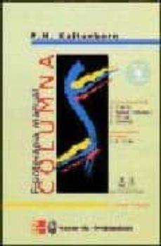 Encuentroelemadrid.es Fisioterapia Manual. Columna (Incluye Cd-rom) Image