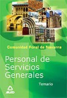 Titantitan.mx Personal De Servicios Generales De La Administracion De La Comuni Dad Foral De Navarra: Temario Image