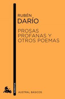 Descarga de libros electrónicos en línea en pdf. PROSAS PROFANAS Y OTROS POEMAS 9788467040906