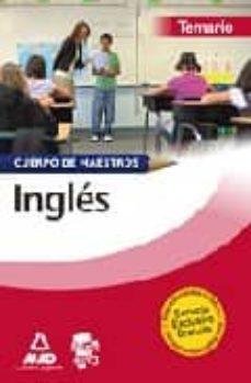 Lofficielhommes.es Cuerpo De Maestros. Ingles. Temario Image