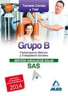 Permacultivo.es Grupo B Del Servicio Andaluz De Salud. Temario Comun Y Test Image