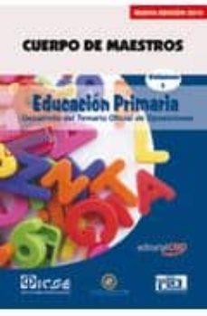 Permacultivo.es Cuerpo De Maestros. Primaria. Temario Vol.i. Edicion Para Canaria S Image