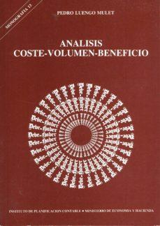 Cronouno.es Analisis Coste-volumen Beneficio Image