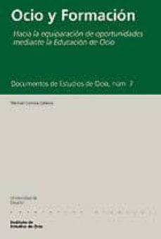Geekmag.es Documentos De Estudios De Ocio,nº 7: Ocio Y Formacion Image