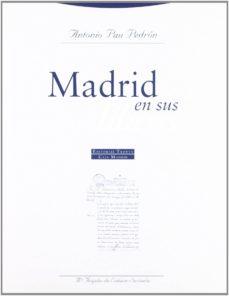 (pe) madrid en sus libros, 1539-2000-antonio pau pedron-9788481643206