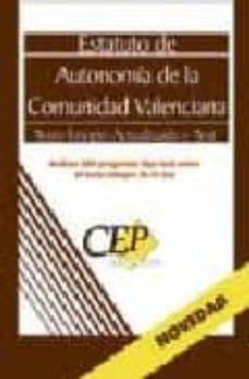 Encuentroelemadrid.es Estatuto De Autonomia De Valencia. Texto Integro Y Actualizado Y Test. Coleccion Legislativa Oposiciones Image