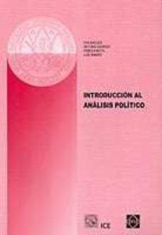 INTRODUCCION AL ANALISIS POLITICO - EVA ET AL. ANDUIZA   Adahalicante.org