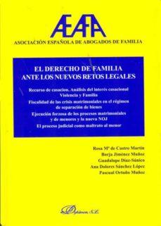 el derecho de familia ante los nuevos retos legales (ebook)-rosa maría de castro martín [et al.]-9788490314906