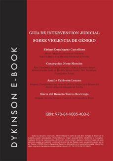 guía de intervención judicial sobre violencia de género (ebook)-9788490854006