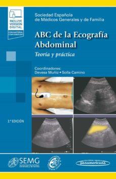 Ebook para psp descargar gratis ABC DE LA ECOGRAFIA ABDOMINAL (2ª ED.) iBook